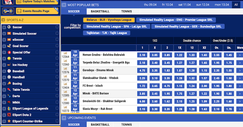 Betking Live Plays To Bet On – Odds Explained