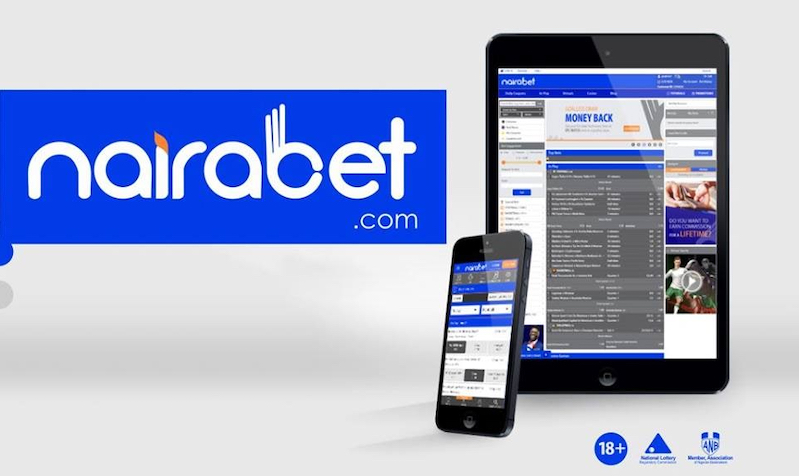 Interface of the Nairabet App
