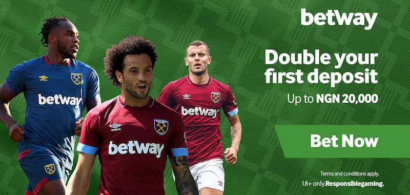 Double Special Welcome Bonus on Betway.com.ng